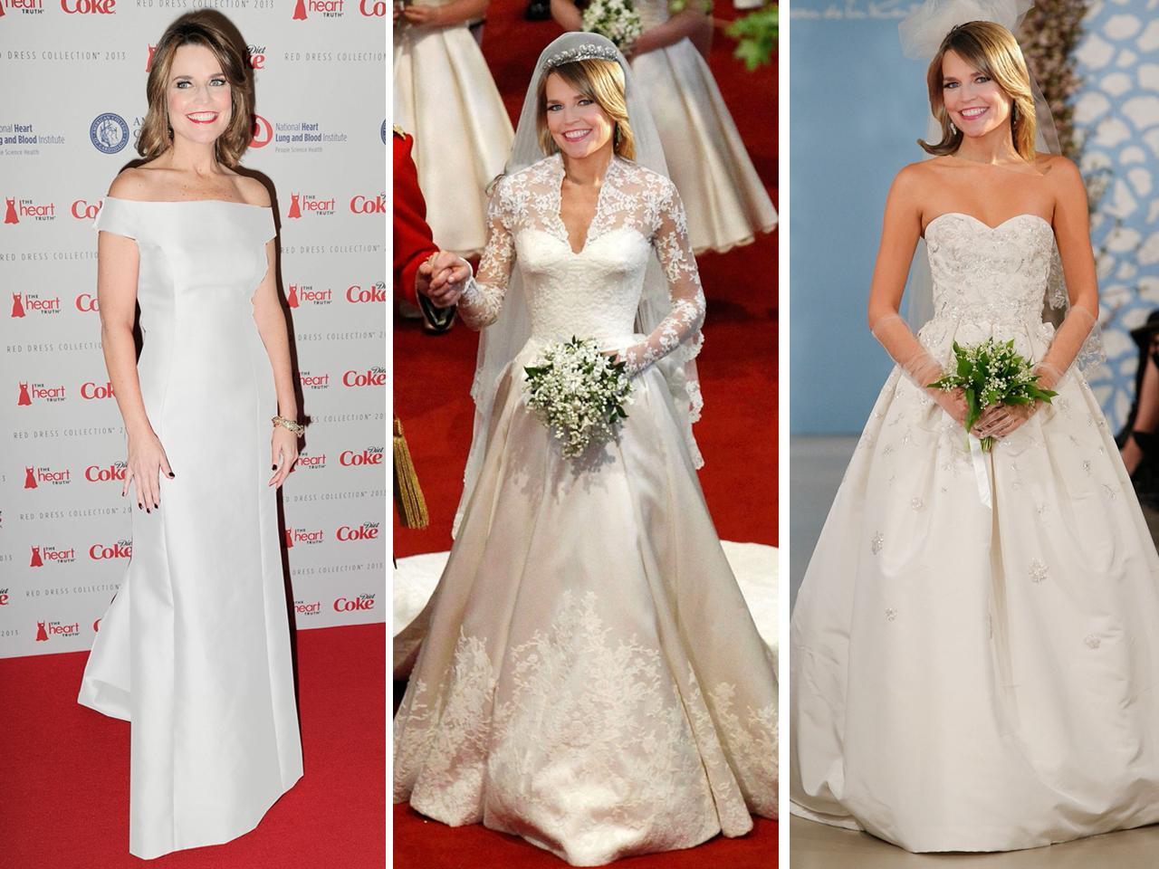 Klg And Hoda Try To Help Savannah Pick A Wedding Dress