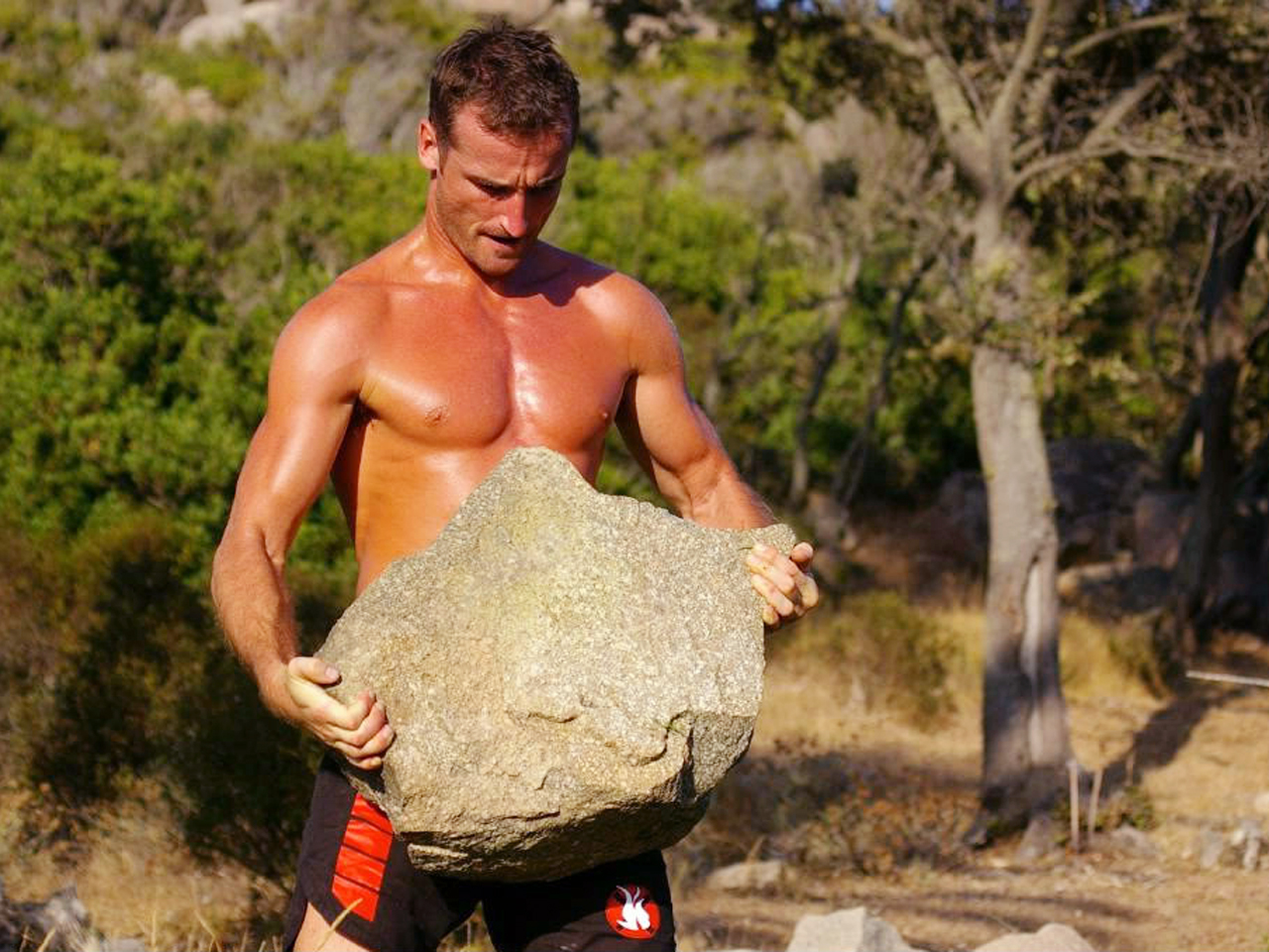 Caveman Rocks : Get primal work out like a cave man or woman today