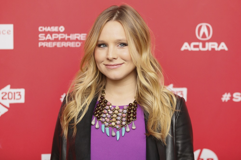 Actress Kristen Bell helped raise funds for a