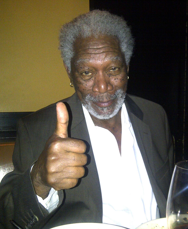 Morgan Freeman I Wasn T Sleeping Just Testing Google Eyelids