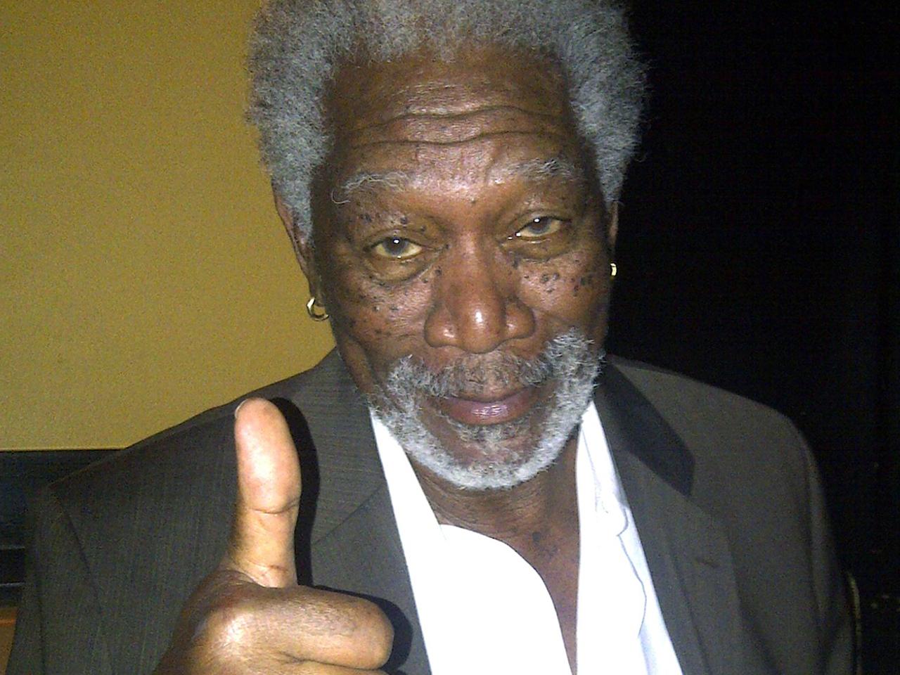 Morgan Freeman I Wasn T Sleeping Just Testing Google