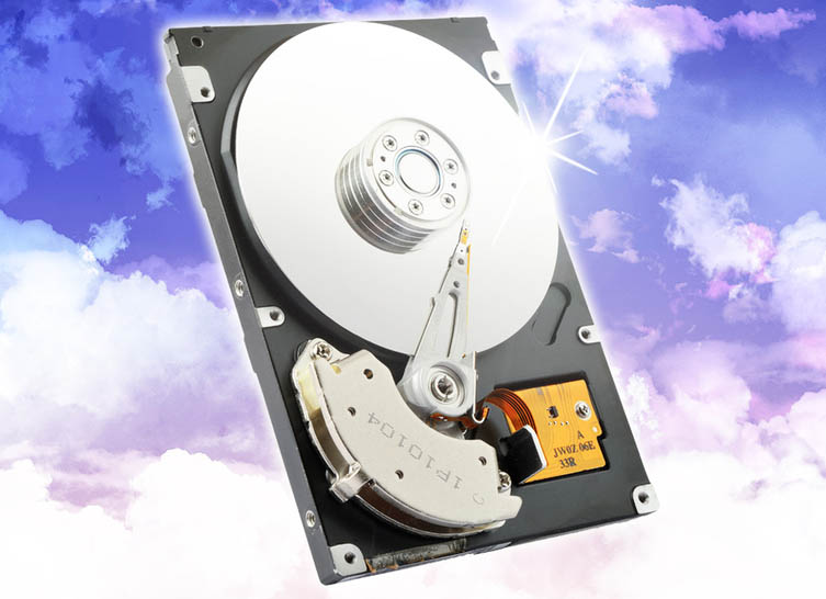 Hard drive illustration