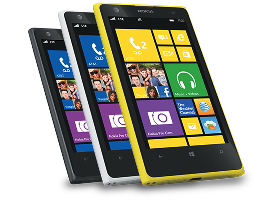 Nokia's Lumia 1020 smartphone.