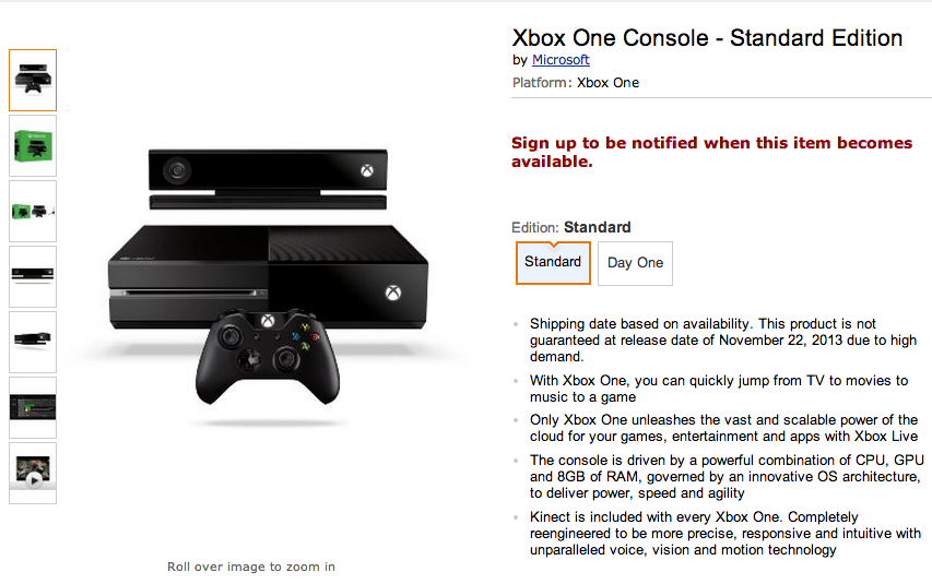Didn't pre-order a PlayStation 4 or Xbox One yet? You may be out of