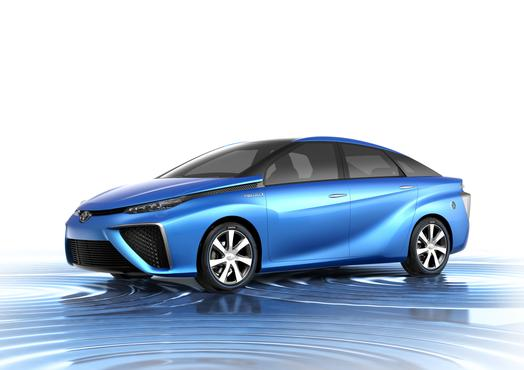 Toyota will reveal its FCV hydrogen car at the Tokyo Motor Show later this month.