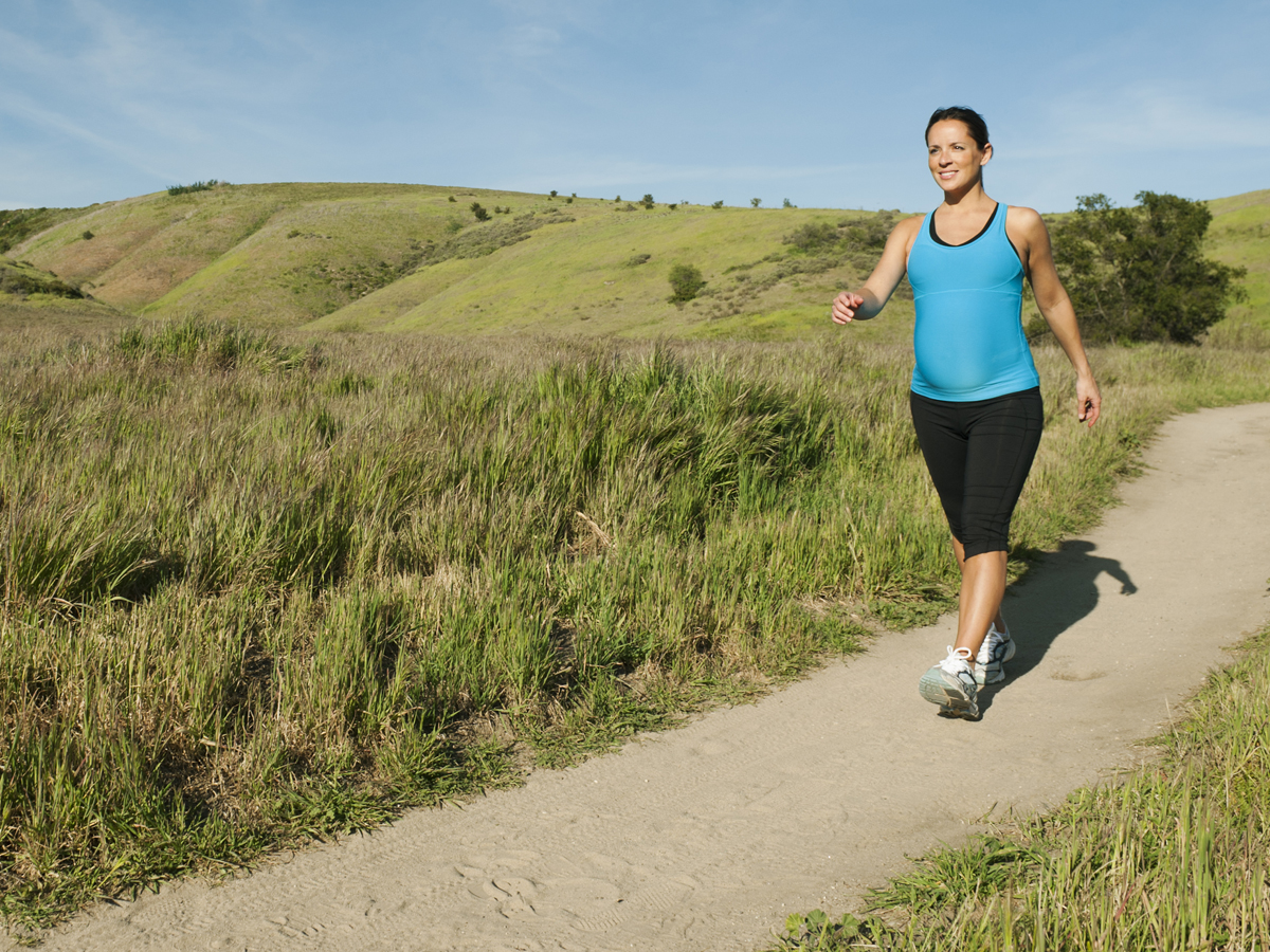 Exercise is good for moms-to-be -- and baby's brain, study ...