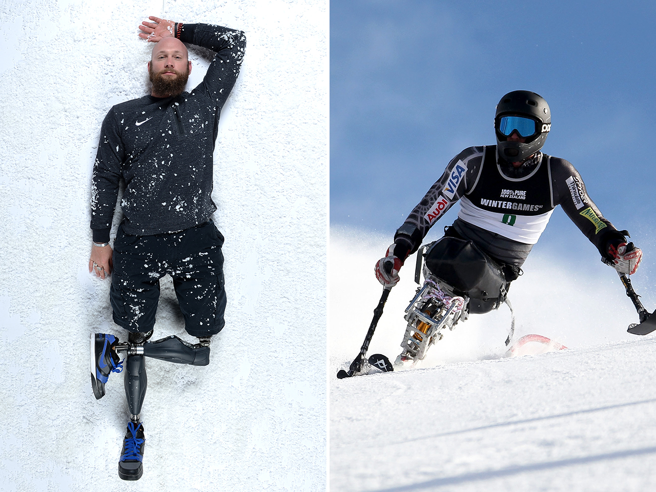 Heath Calhoun Iraq vet Heath Calhoun39s new battle To ski in Sochi