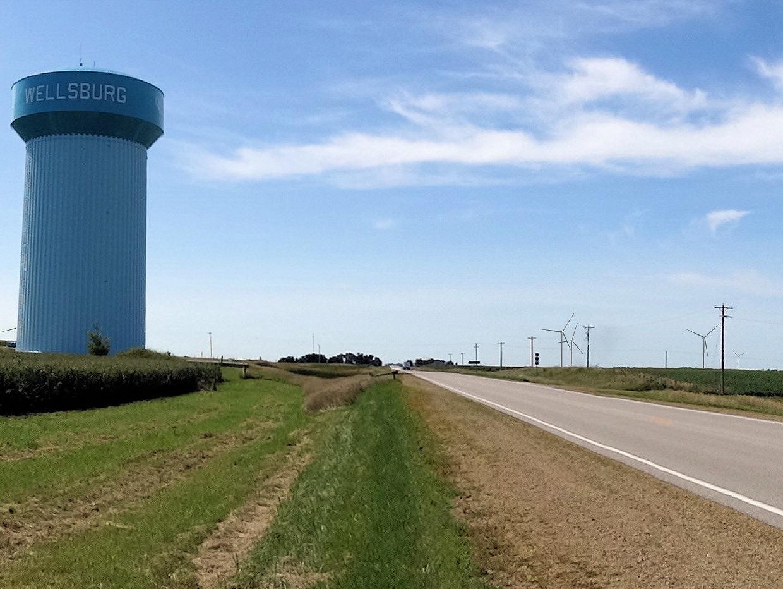 Wind farm meets server farm at latest facebook data center for Farmhouse tower