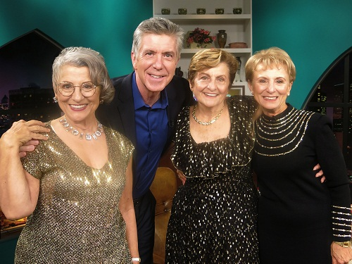 Image: Teresa Dahkquist, Tom Bergeron, Mary Bartnicki and Josie Cavaluzzi