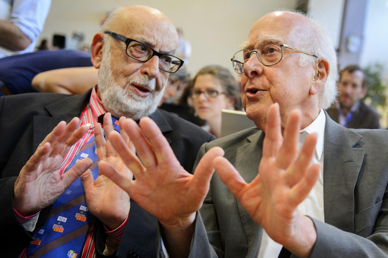 Image: Englert and Higgs