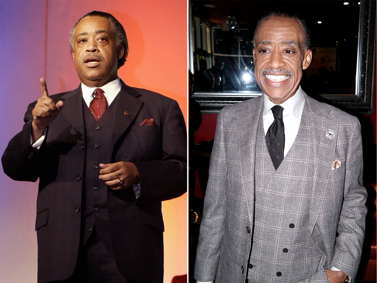 Al Sharpton's drastic weight loss