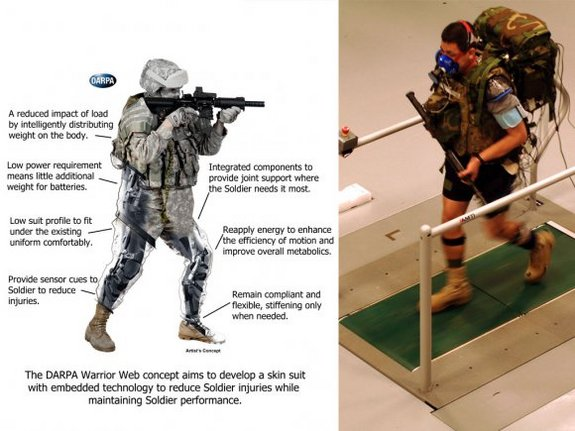 The U.S. Army is developing a high-tech suit for soldiers à la