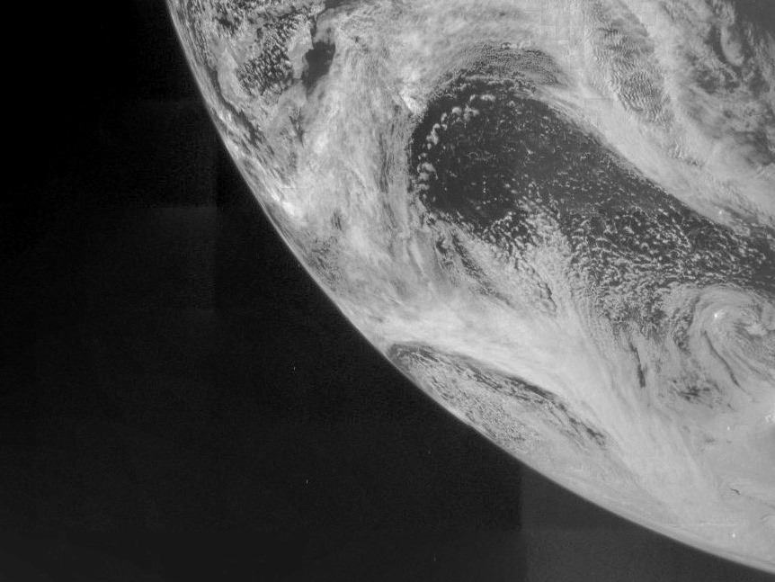 Image: Juno view of Earth