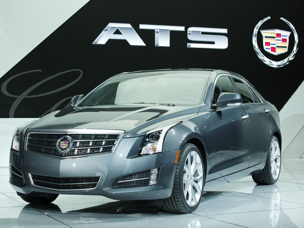 epa03535414 A handout photograph released by Cadillac on 14 January 2013 showing the Cadillac ATS winner of the North American Car of the Year Award, ...