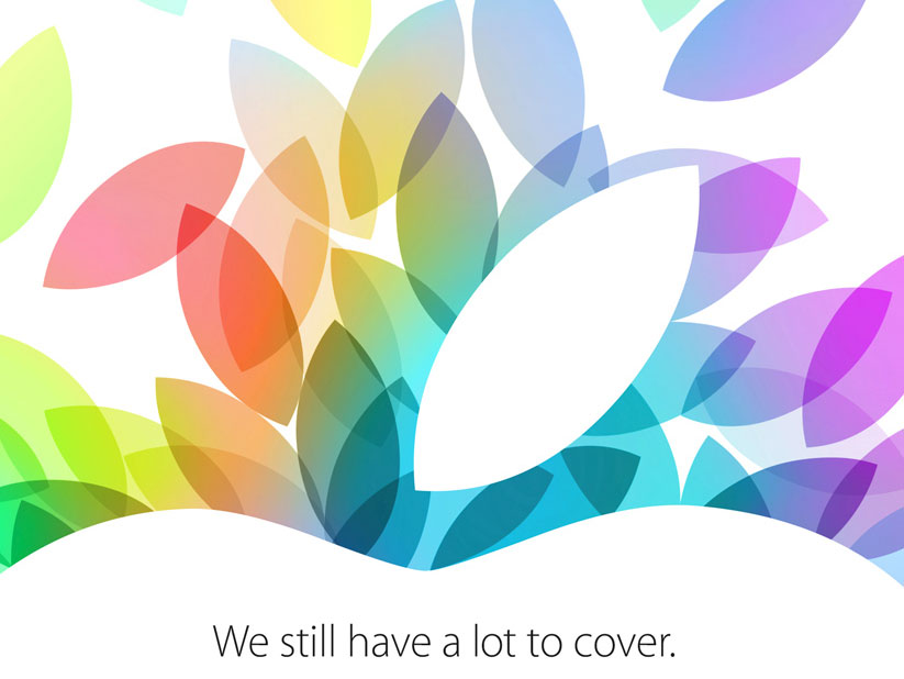 The press invite for Apple's Oct. 22 event promised