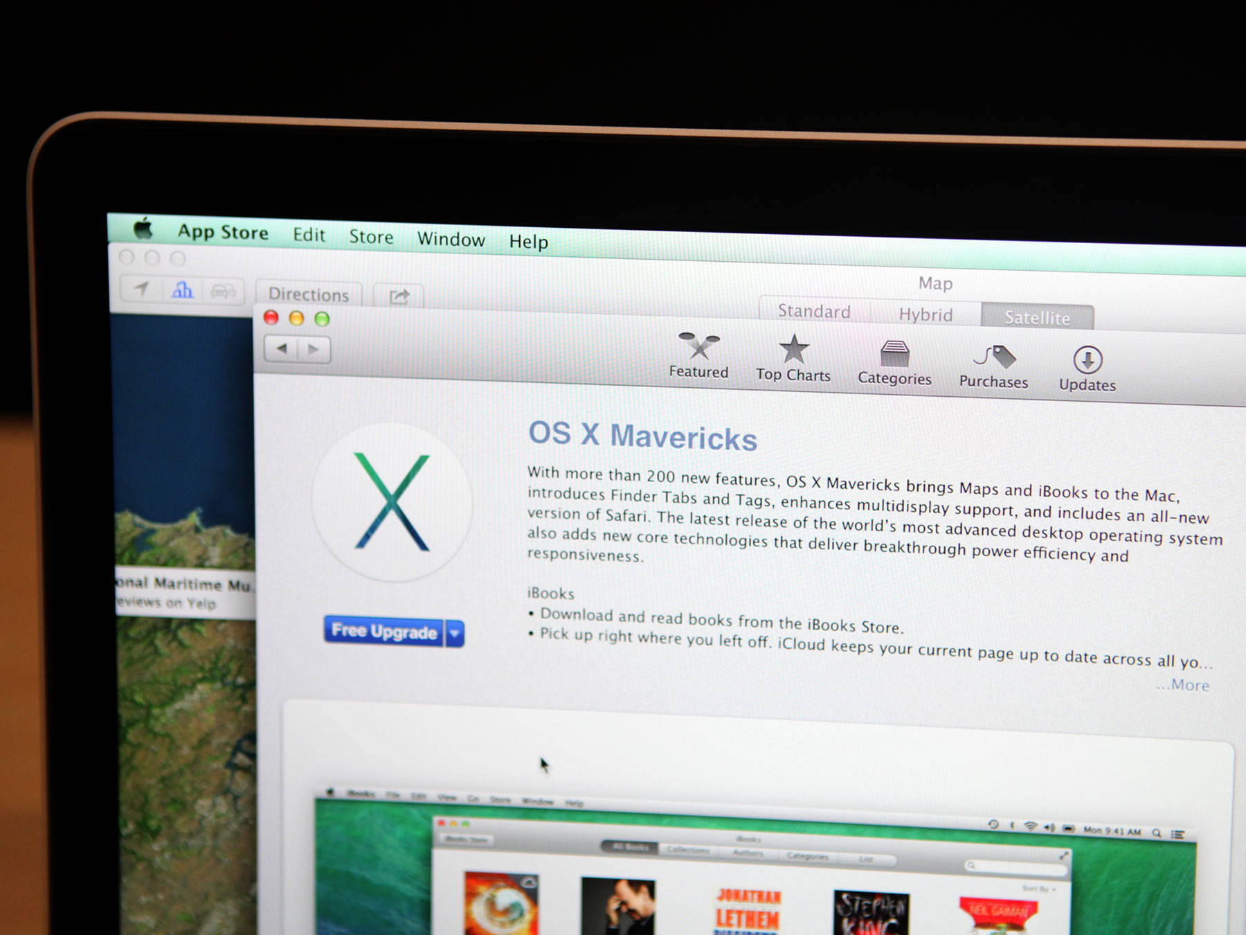 Apple's new OS X, Mavericks, is available for download now, for free.