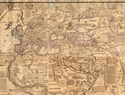 mysterious renaissance map charts cartographers methods