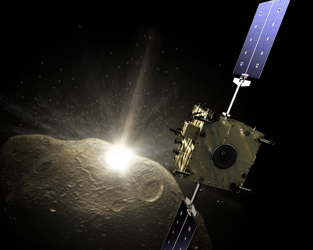 Image: Asteroid impact