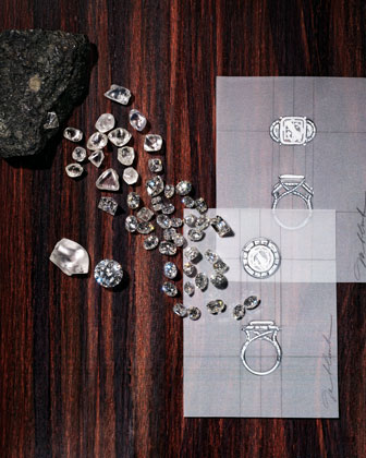 The Neiman Marcus Forevermark Ultimate Diamond Experience includes a trip to the De Beers headquarters in London, where the traveler will receive a 25-carat diamond.