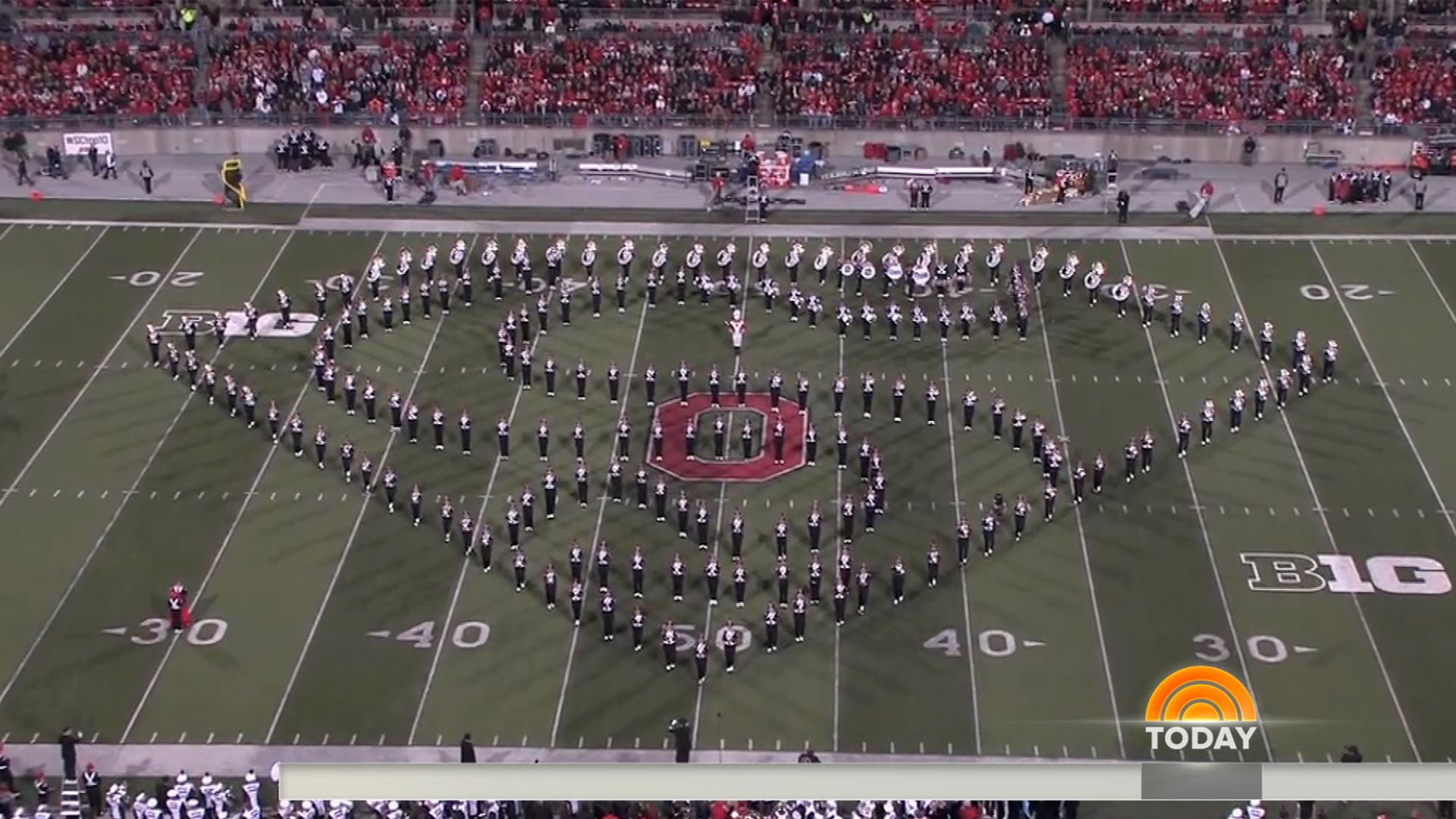 a recollection of my experience during the marching band festival ohio