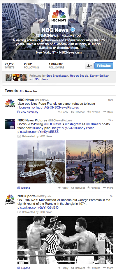 NBC News on Twitter