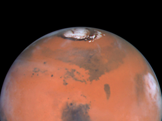 Image: Hubble view of Mars