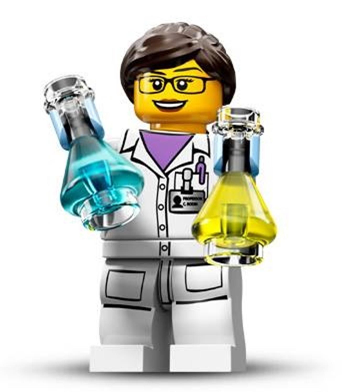 Image: LEGO's new Scientist minifigure