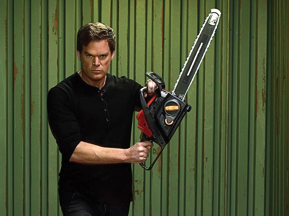 Image: Michael C. Hall as Dexter Morgan.