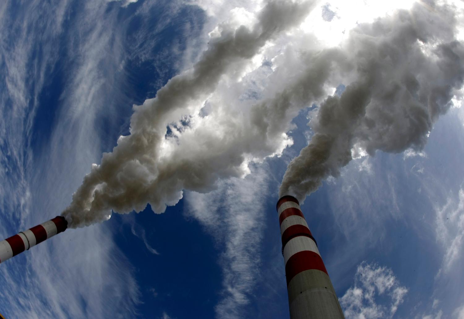 Image of a coal plant in Europe