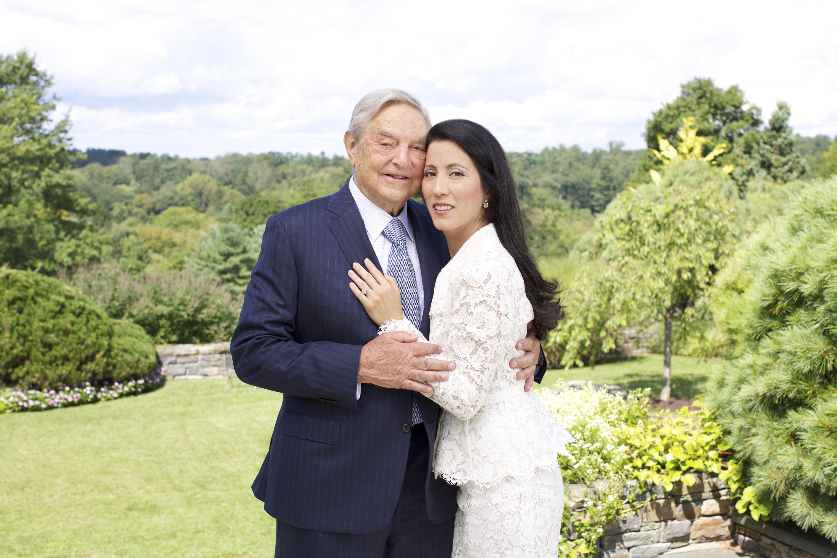Soros to marry for third time, with three-day New York celebration