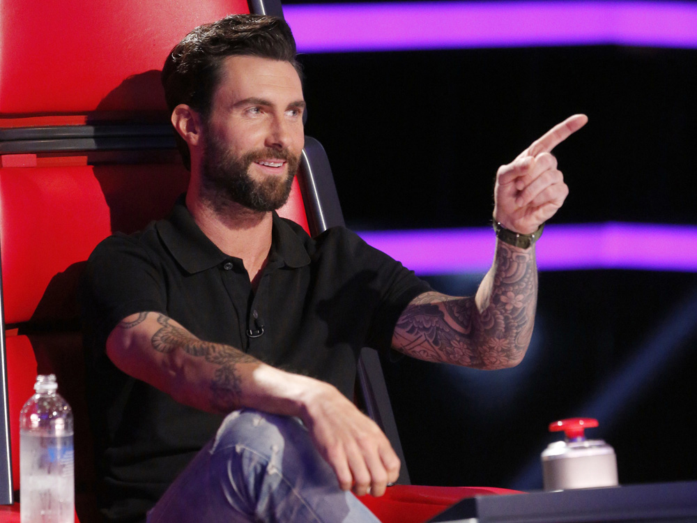The Voice Contestant Hits On Coach Adam Levine Today Com