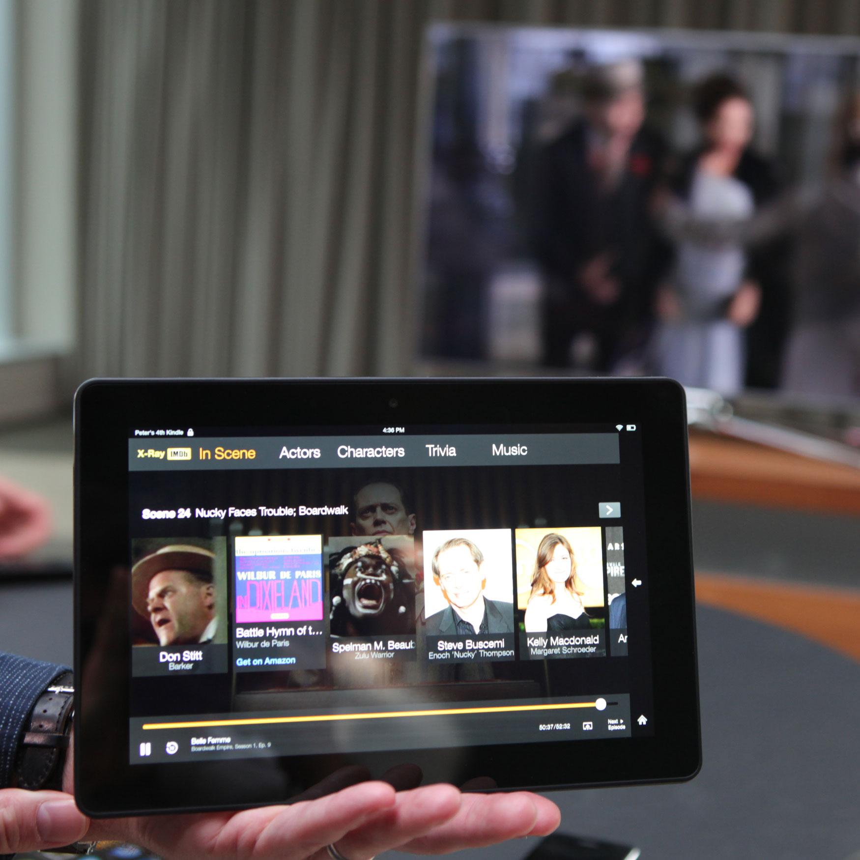 Kindle HDX screen sharing