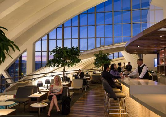LAX Star Alliance lounge