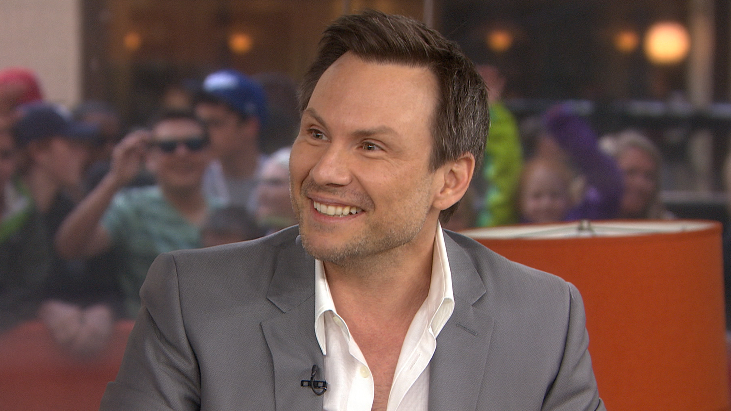 Christian Slater Reviews Heathers Musical On Today It Was Weird