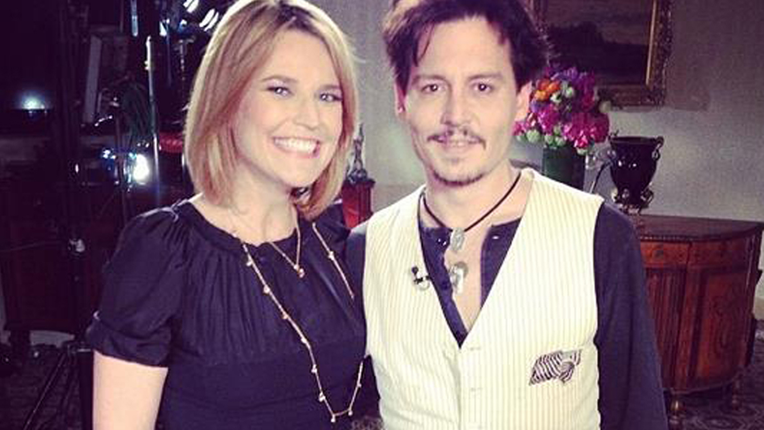 Johnny Depp Is Engaged He Confirms To Today S Savannah Guthrie