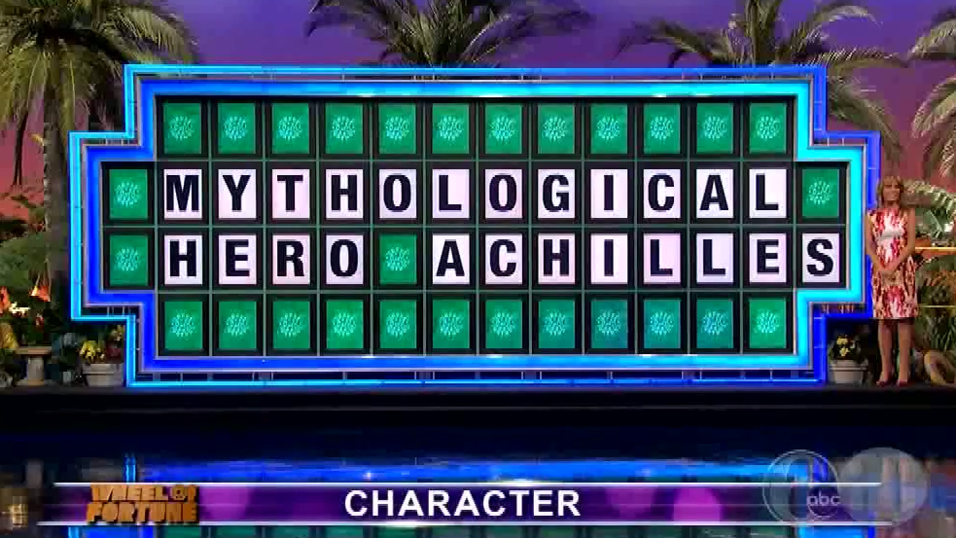 College Student Loses Wheel Of Fortune Puzzle With All