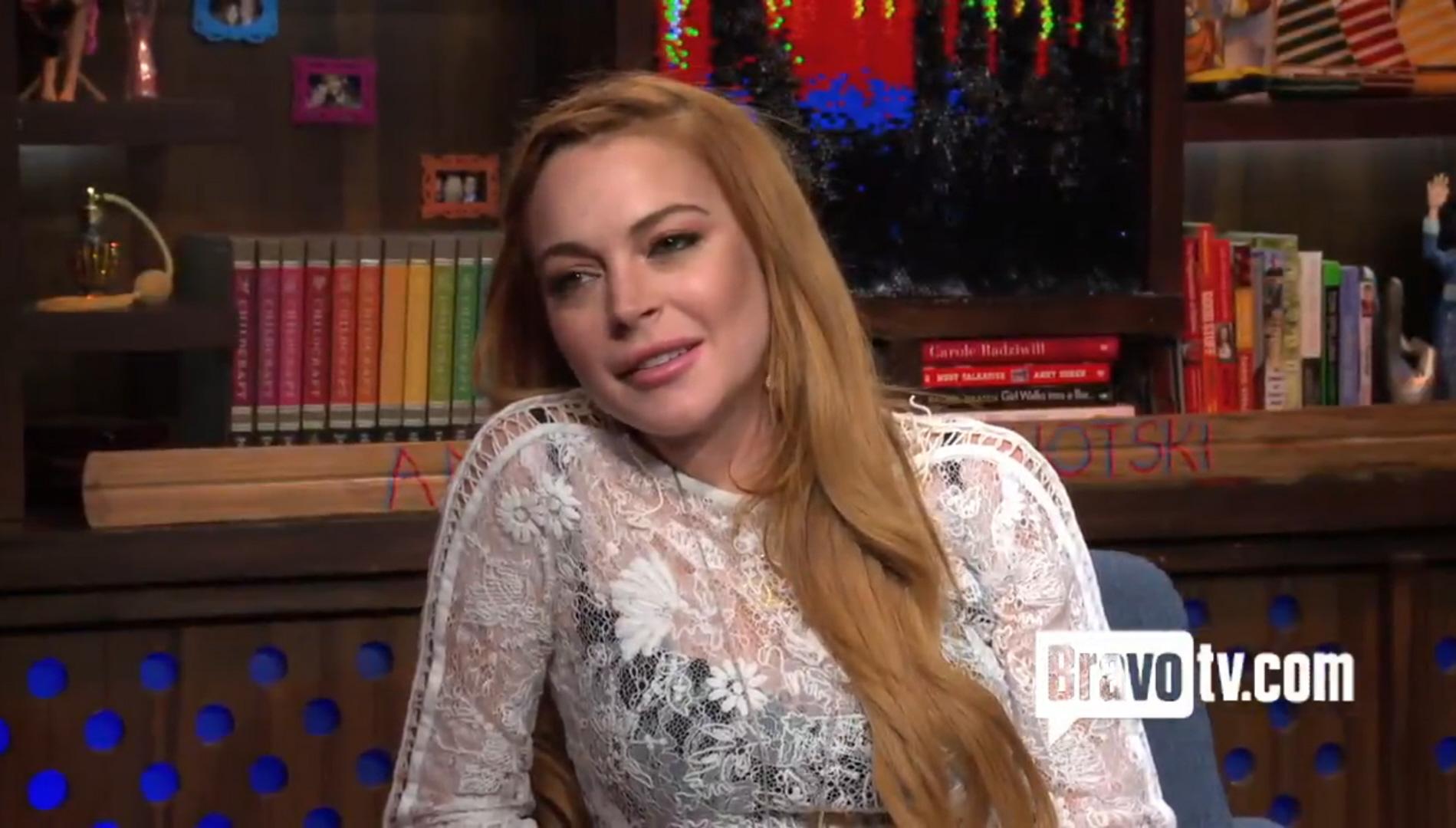 Lindsay Lohan says 'co...