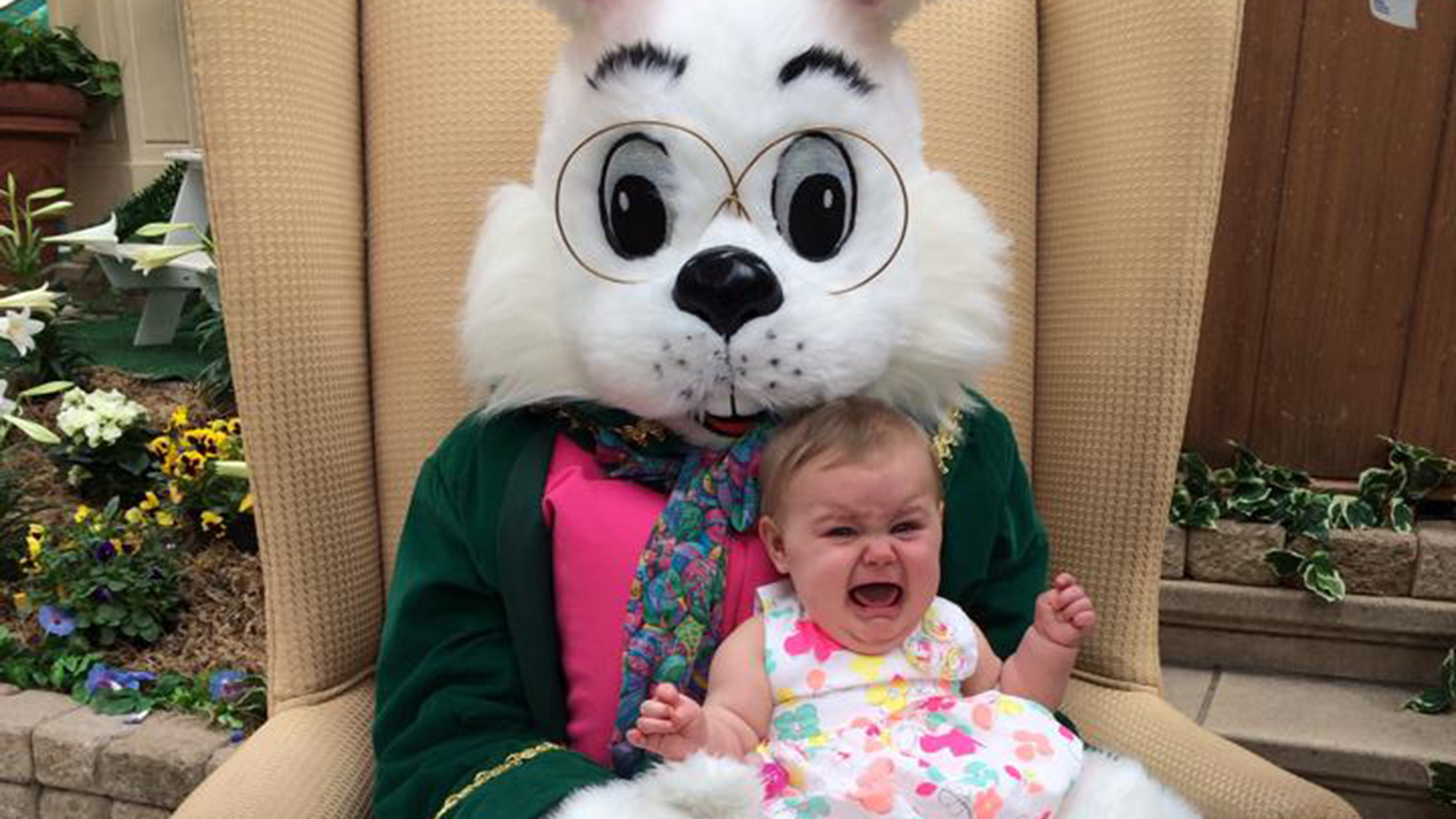 Kids scared of the Easter Bunny? Well, look at him! - TODAY.com