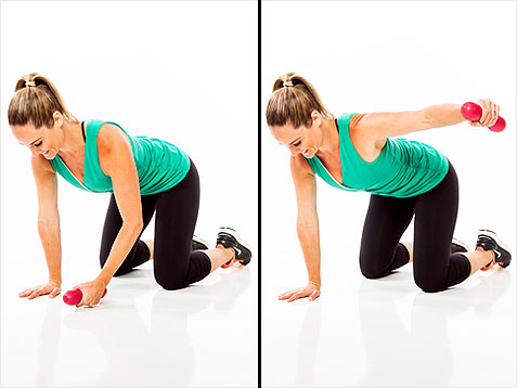Lose those batwings! 5 weeks, 5 exercises for arms and ...