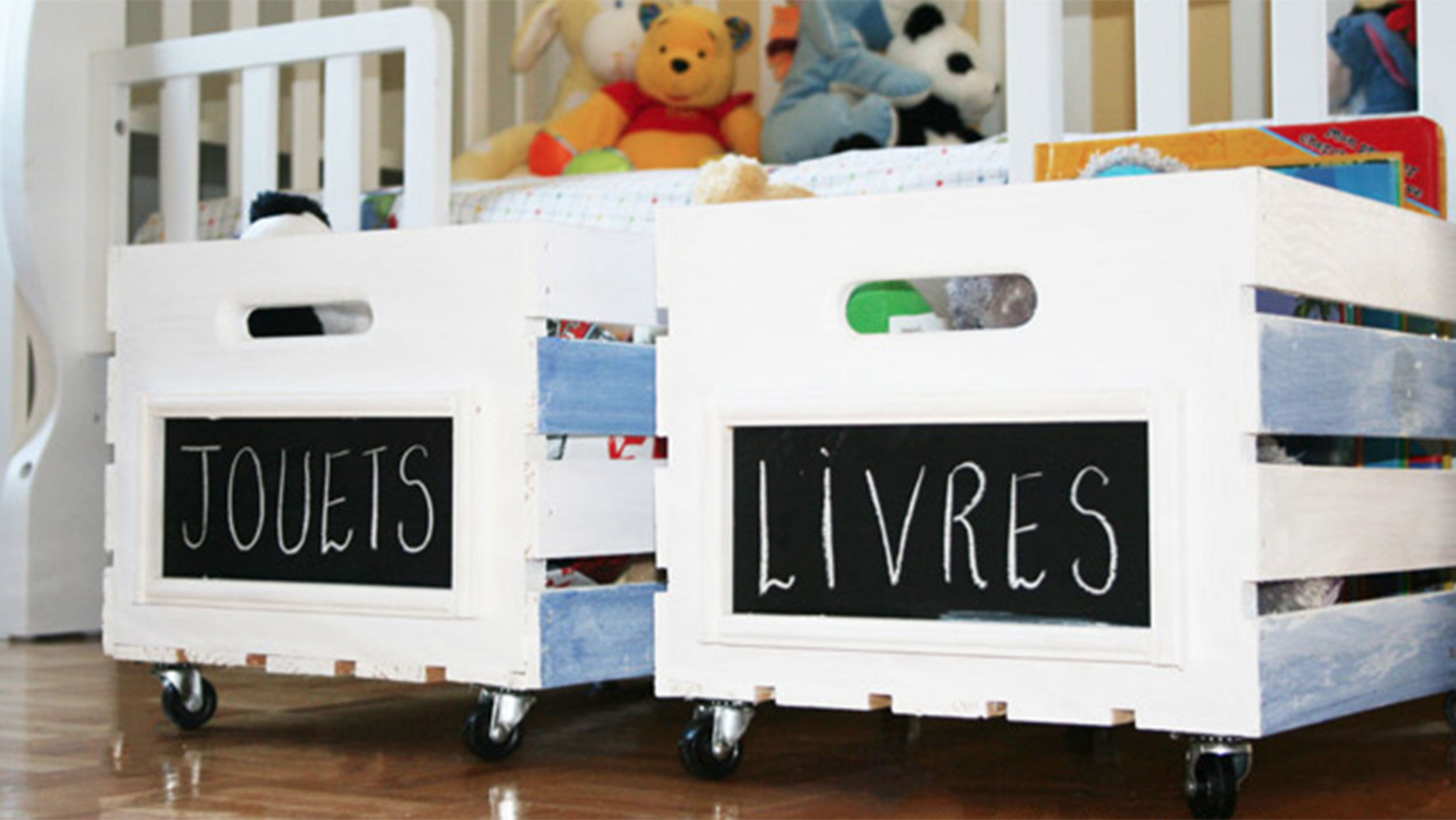 Hide the mess with style: 9 creative D-I-Y toy storage solutions