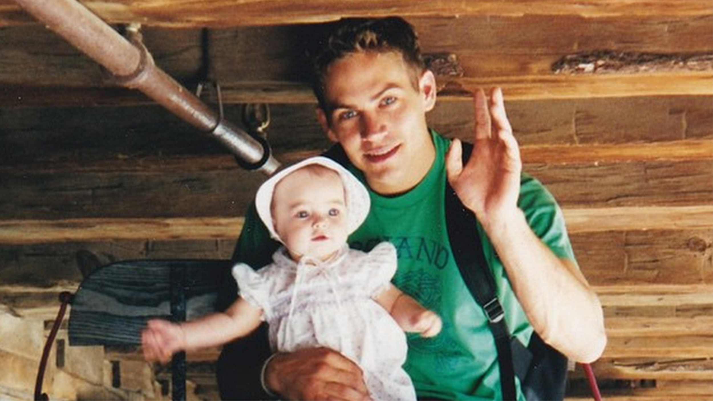 paul walker 39 s daughter shares sweet photo on the anniversary of his death. Black Bedroom Furniture Sets. Home Design Ideas