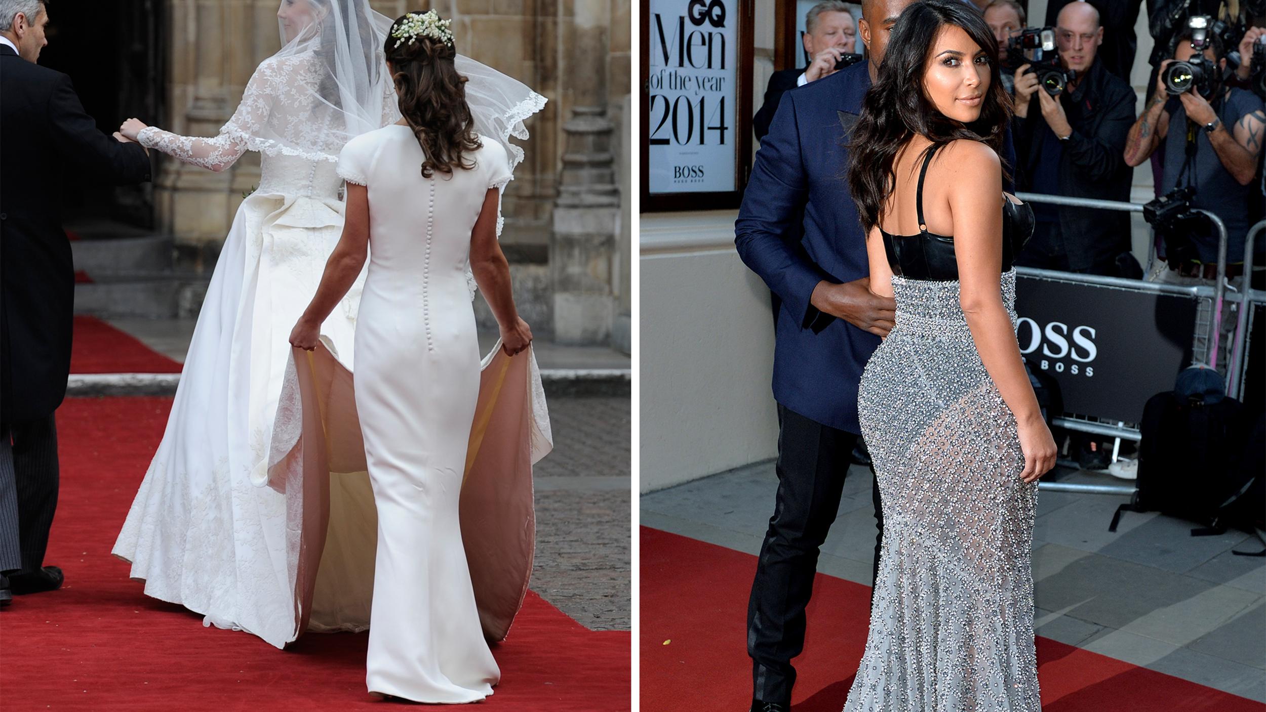 Pippa Middleton Declares Kim Kardashian The Rear Of 2014