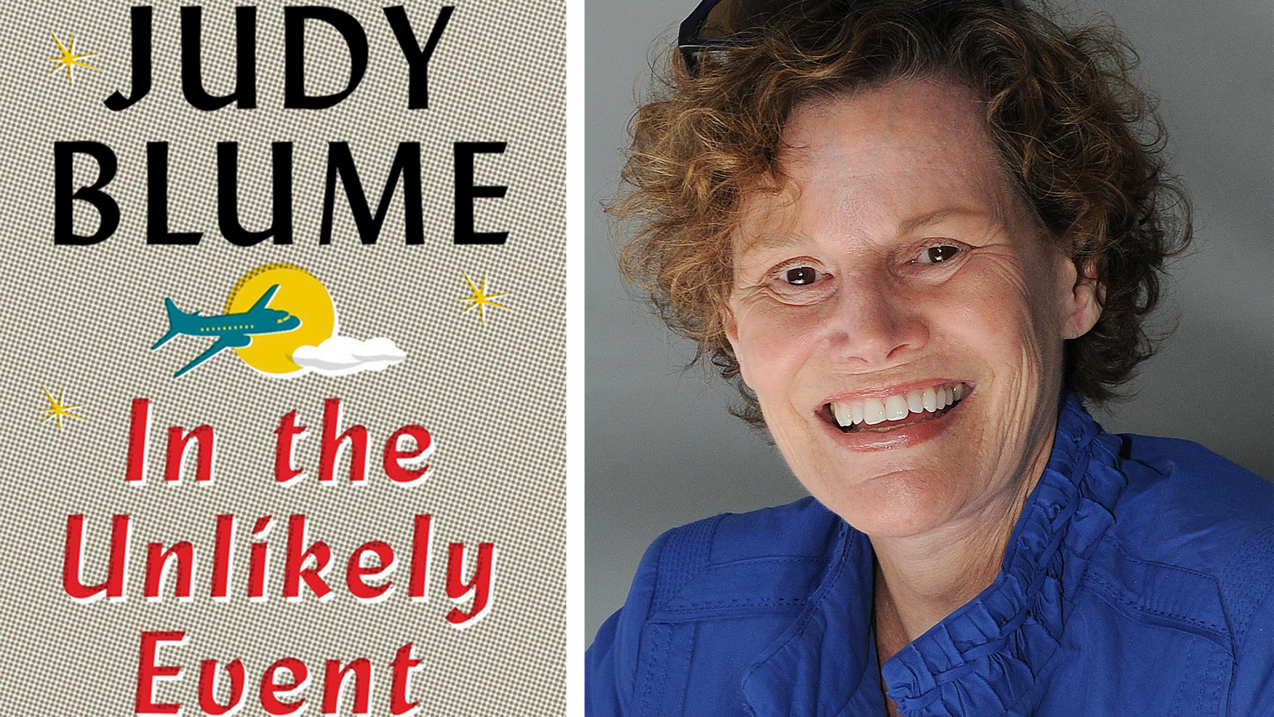 judy blume reveals details of in the unlikely event her first