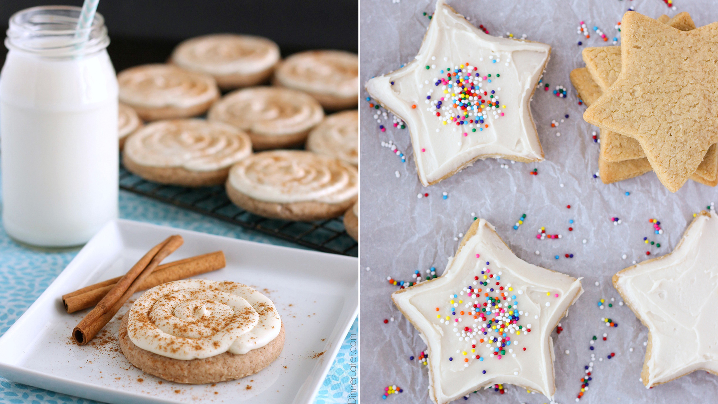 5 easy sugar cookie recipes to make for the holidays - Simple Christmas Cookies