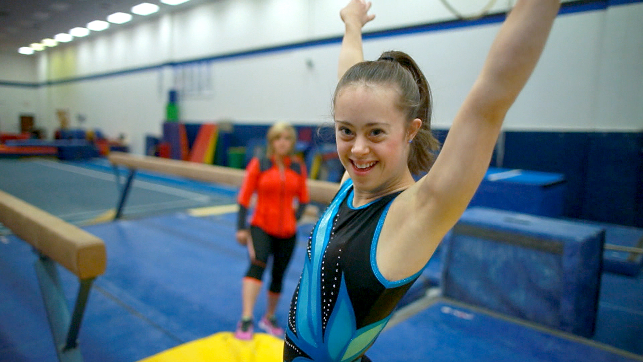 Champion Gymnast With Down Syndrome Overcomes Obstacles