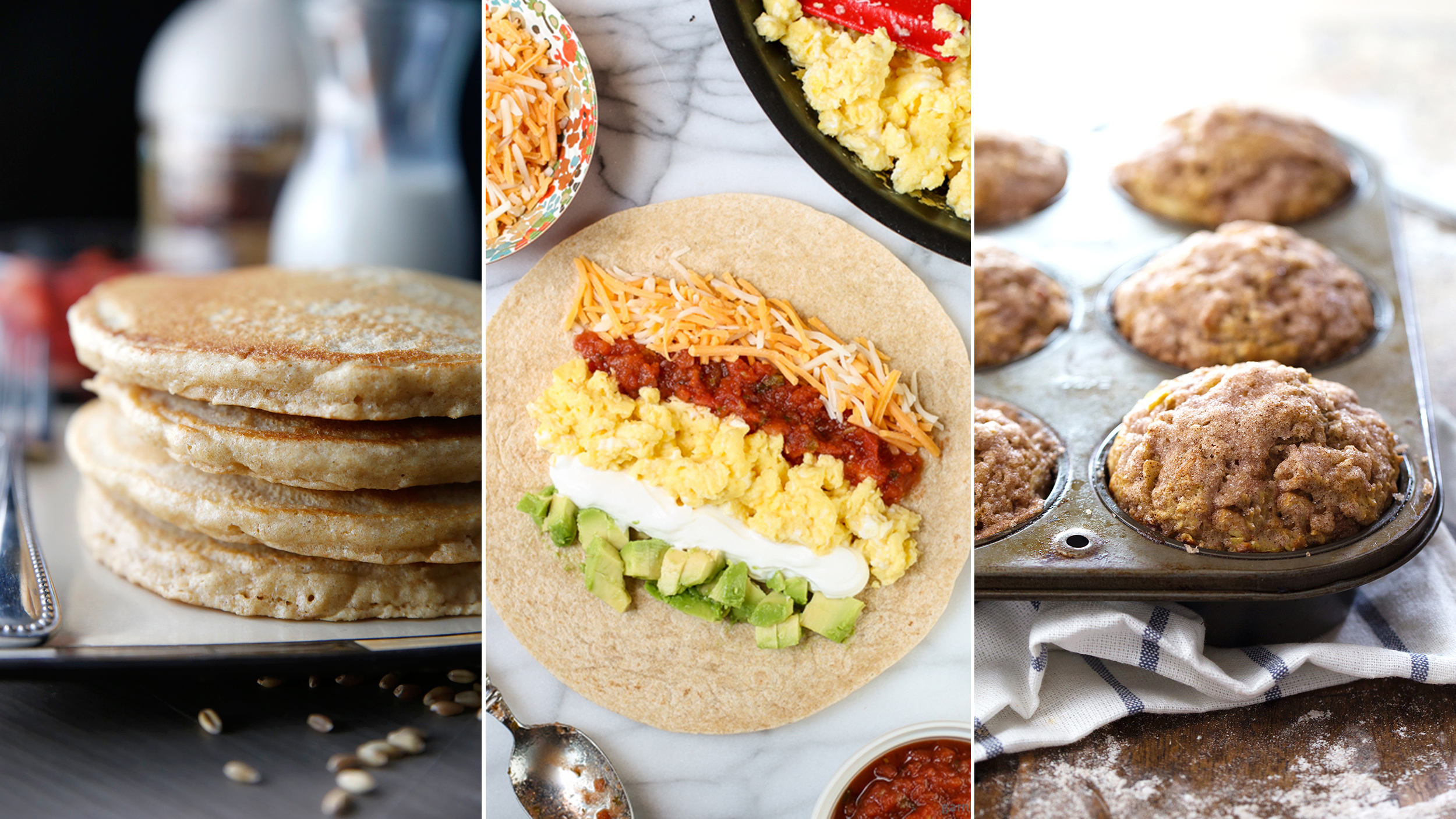Healthy breakfast recipes: 6 easy ideas to start your