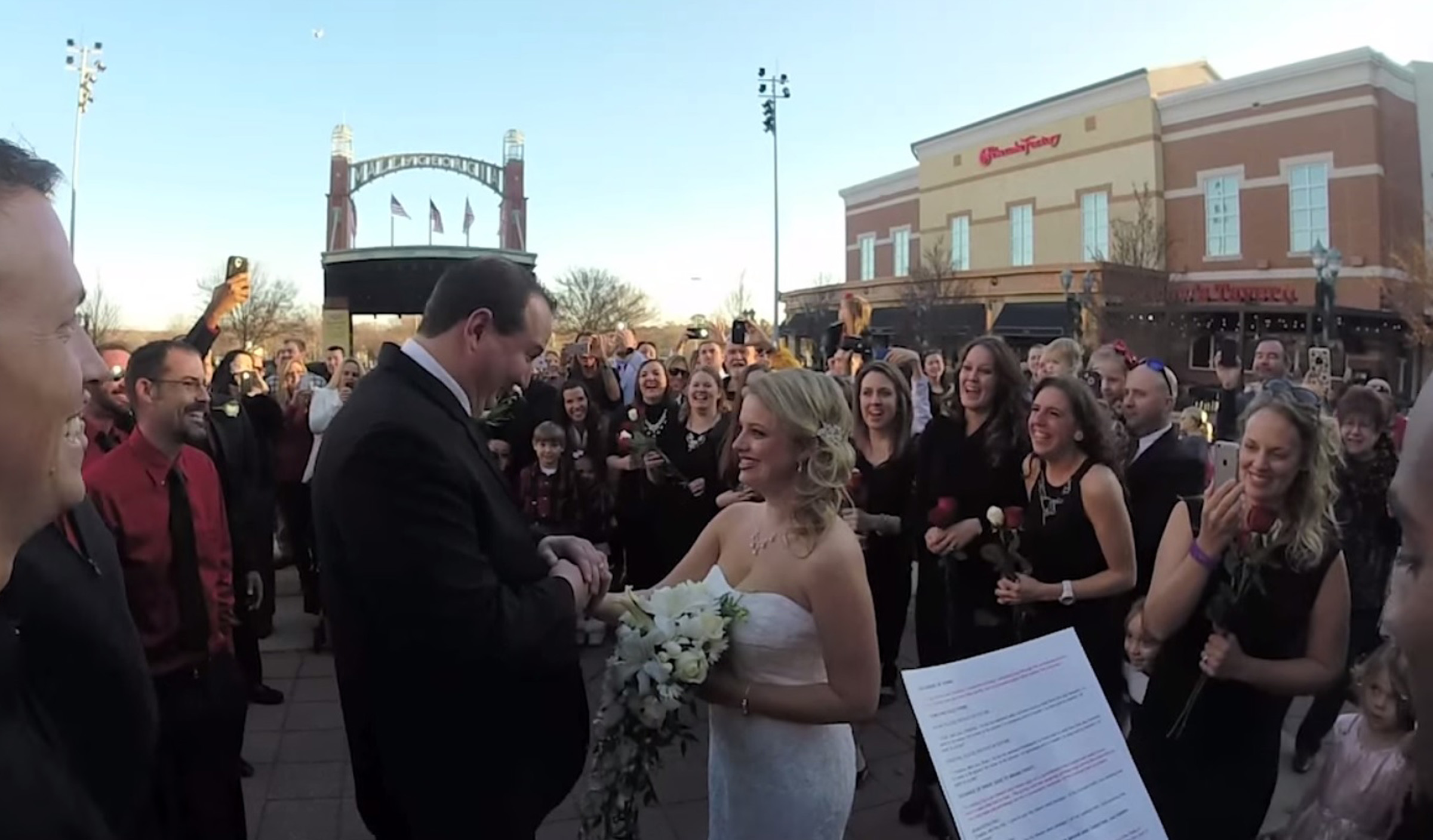 Groom Ups The Stakes With Georgia Flash Mob Wedding To Surprise Bride
