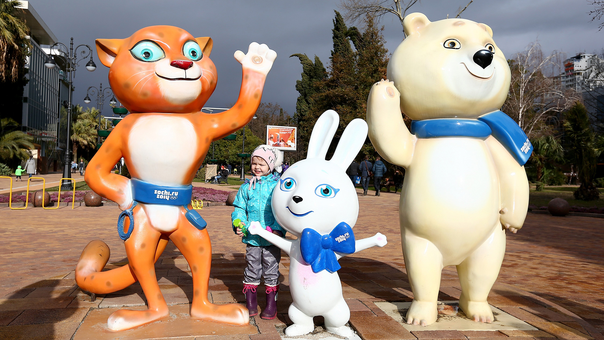 Meet the Animals Behind the Mascots of the 2014 Winter ... |Winter Olympics 2014 Mascot Names