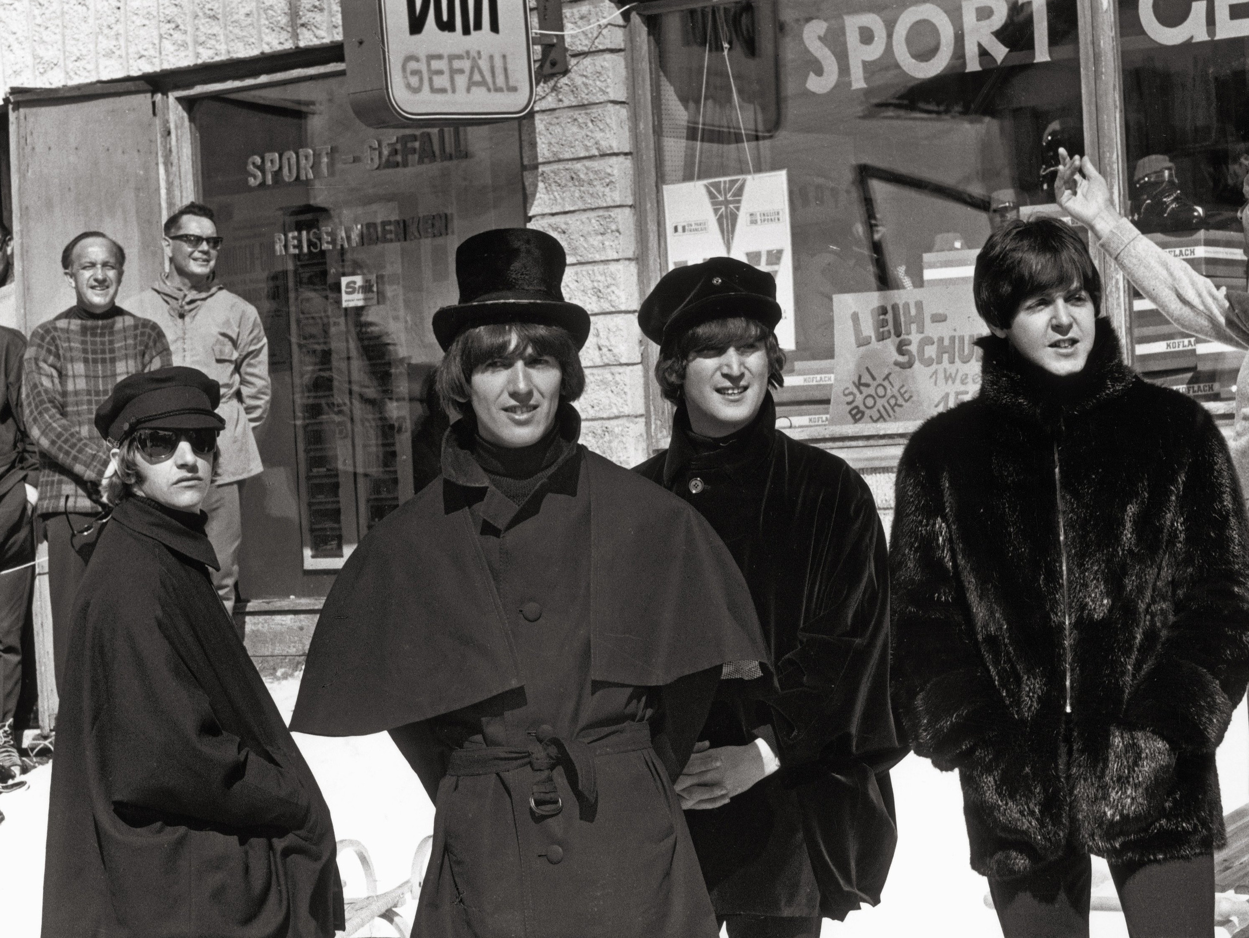 beatles help jackets are going up for auction todaycom