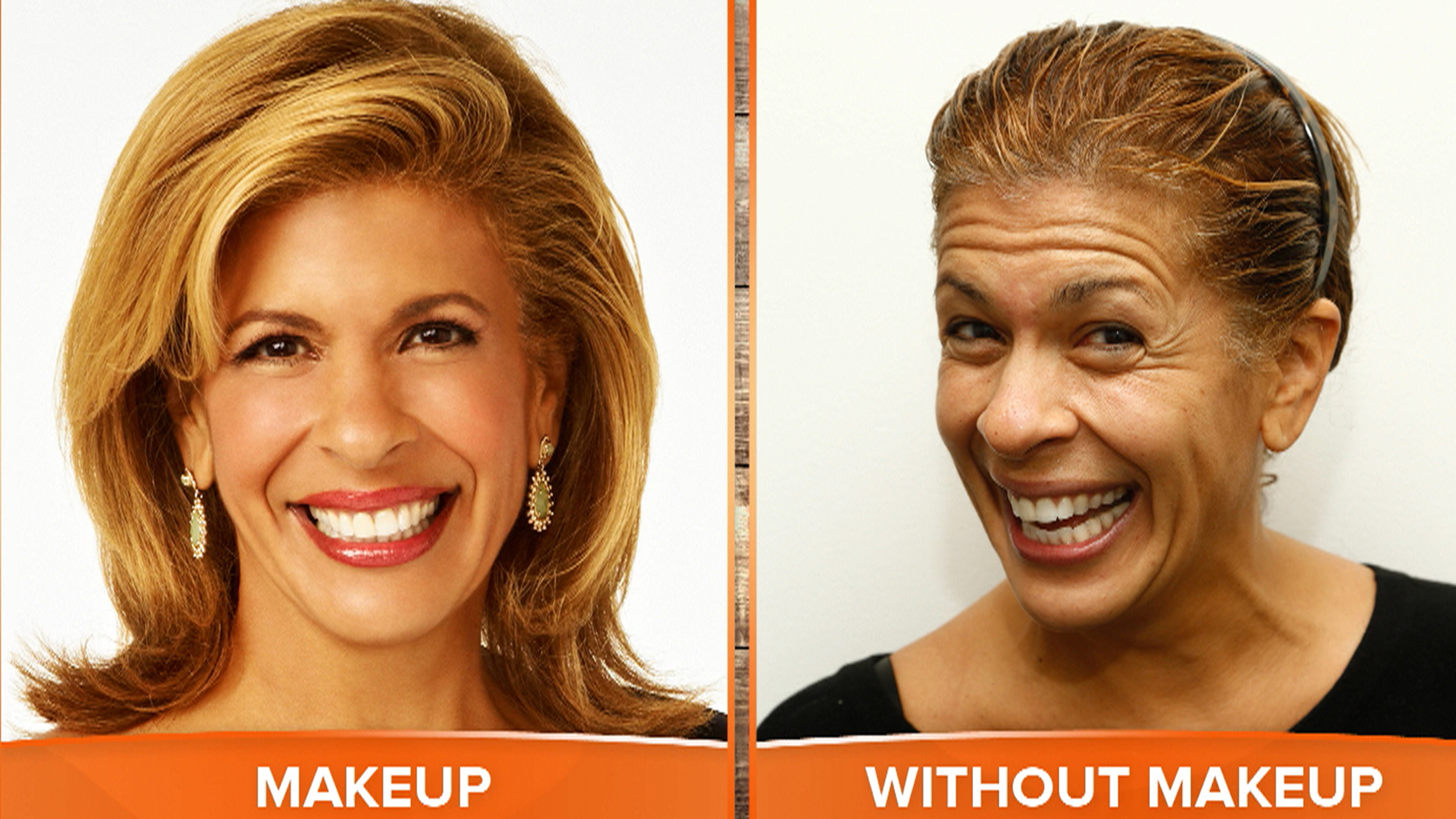 TODAY anchors (and you) dare to bare on No Makeup Monday ...